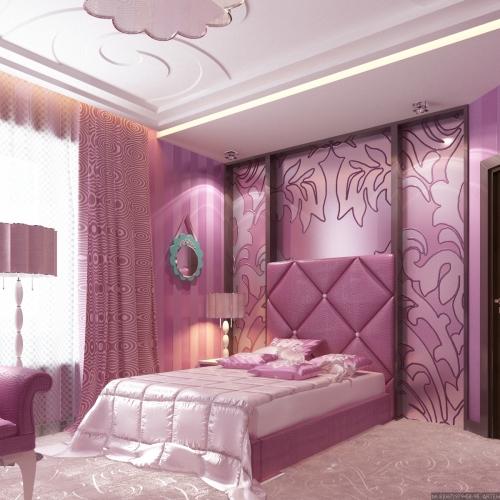 Кімната дівчинки рожева KRK_101
