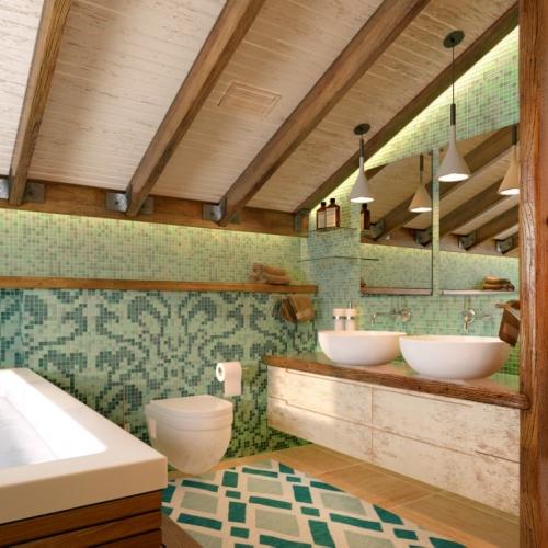 Ванная комната в дубе WMD_215