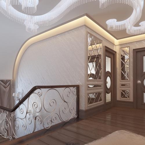 Ковані сходи в будинку SK_102
