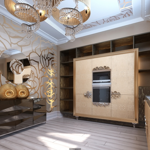 Унікальна кухня із неперевершеним дизайном K_104