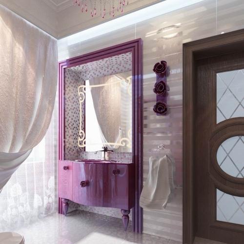 Ванна кімната бузкова WK_110