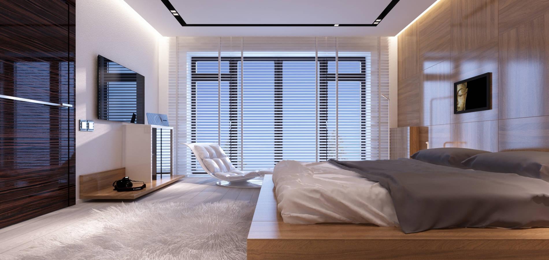 Спальня в стилі Хай тек SM_305